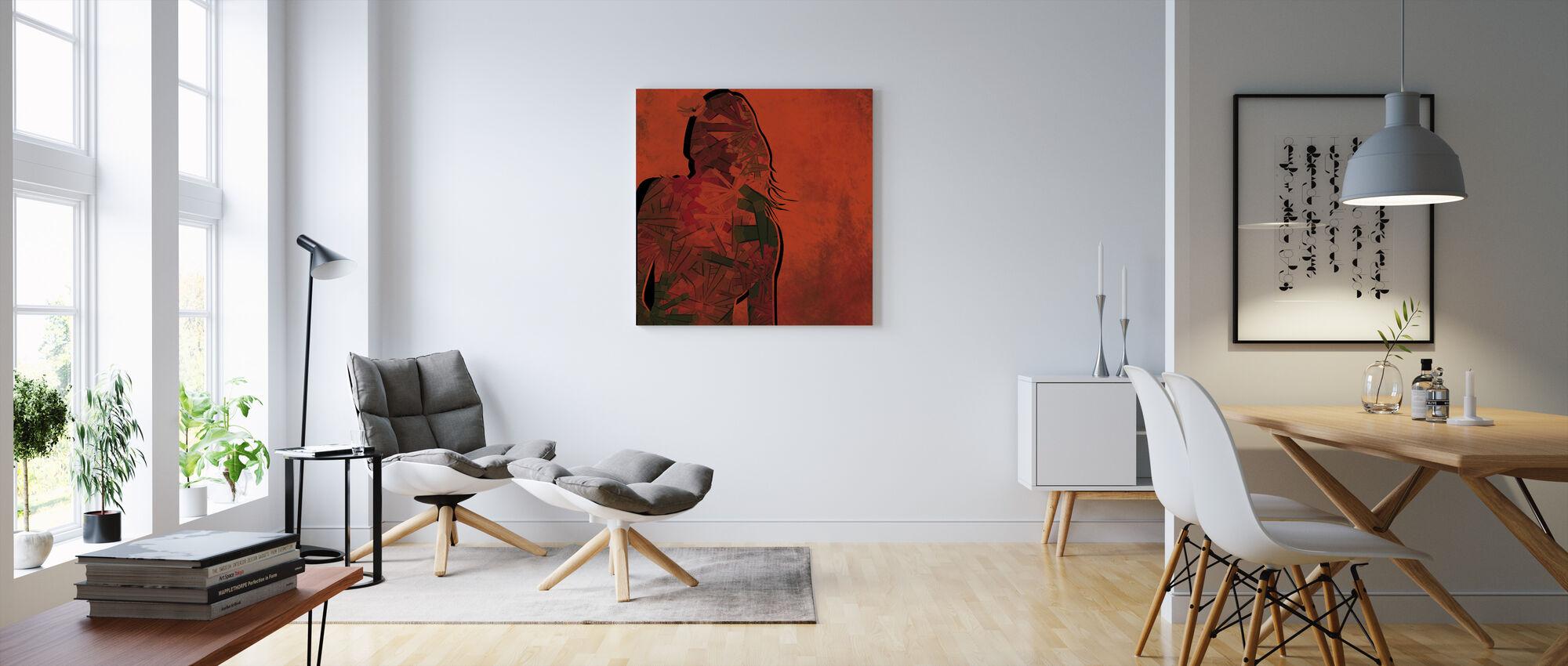 XXI Century - Canvas print - Living Room