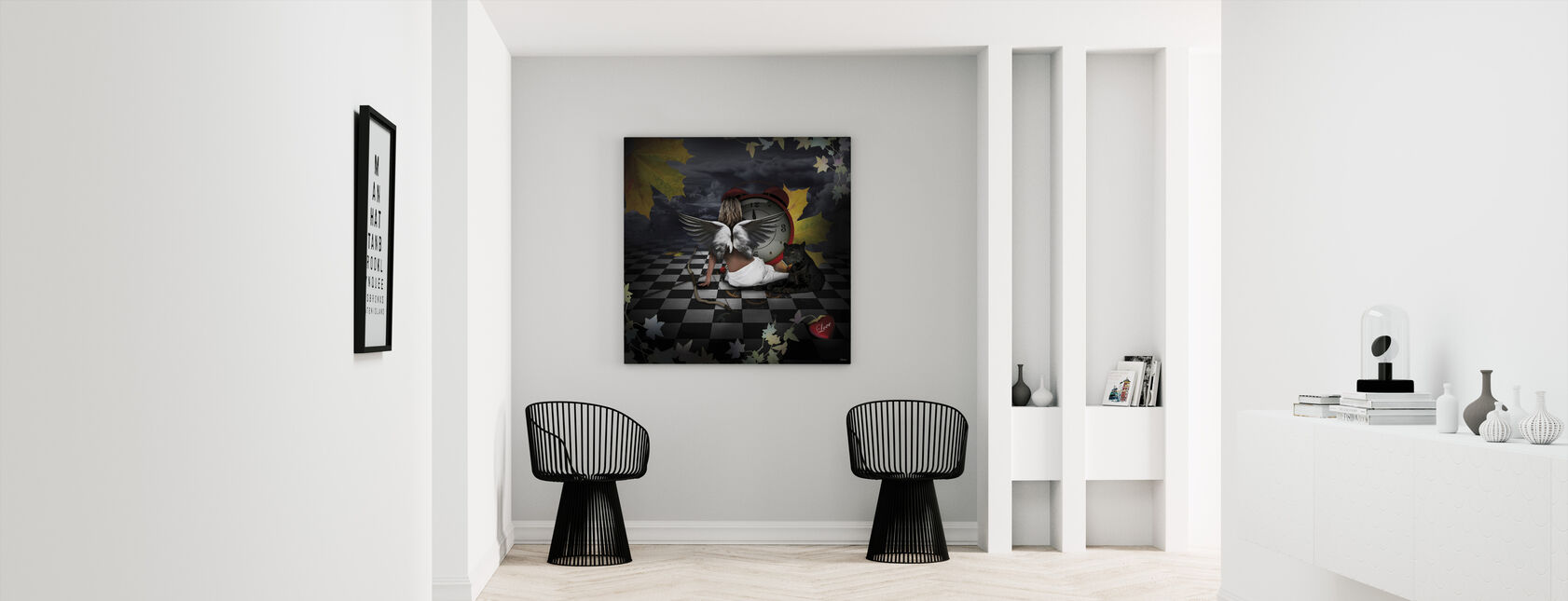 Eternal Love - Canvas print - Hallway