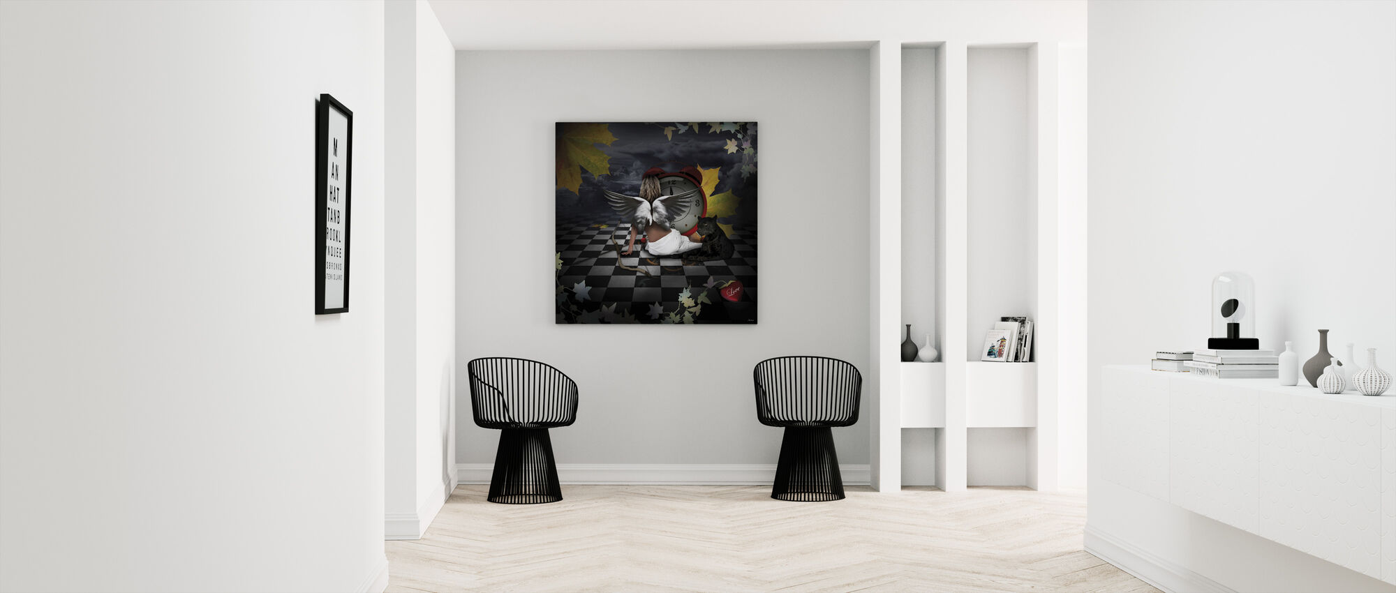Eternal Love - Canvas print - Hallway