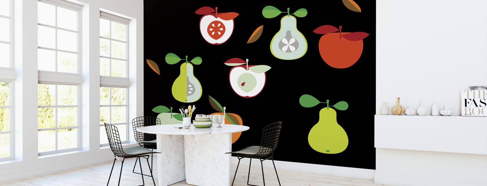 Kivik Eple og Pære - Tapet - Kjøkken
