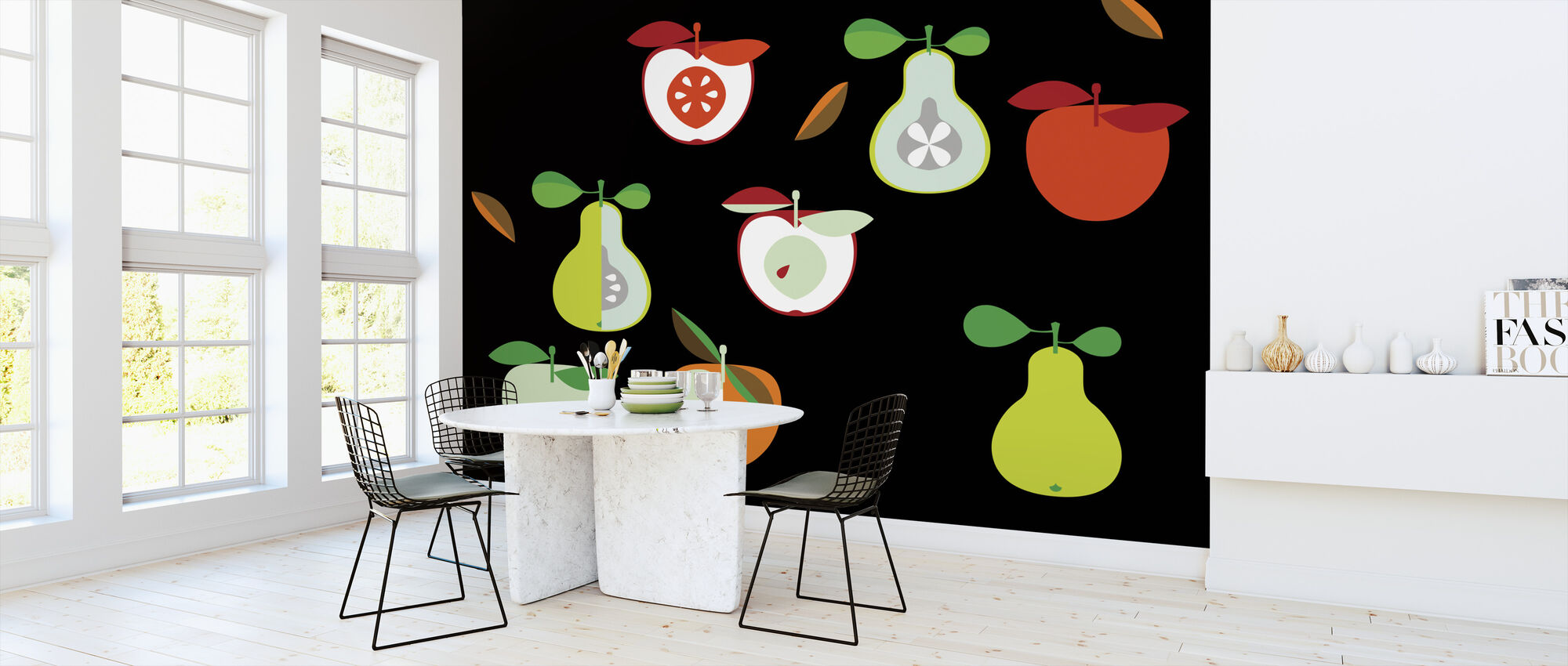 Kivik Apple and Pear - Wallpaper - Kitchen