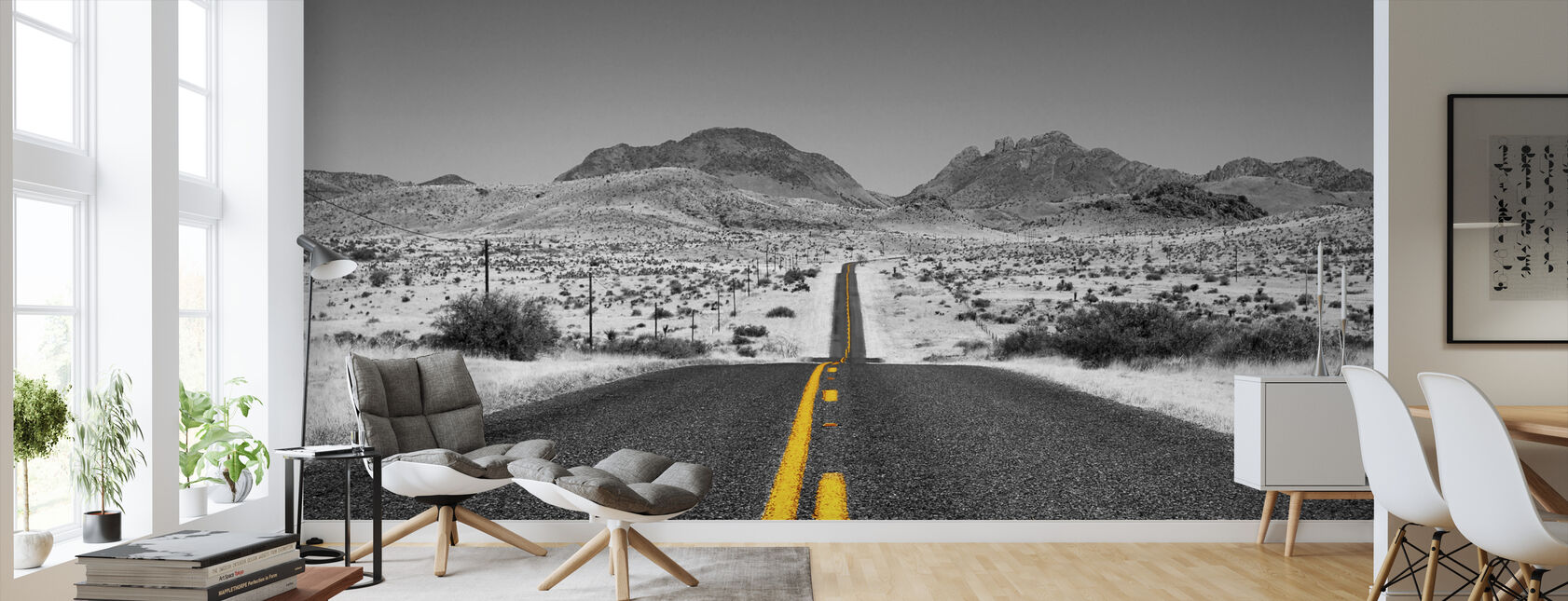 Lost Highway - Colorsplash - Wallpaper - Living Room