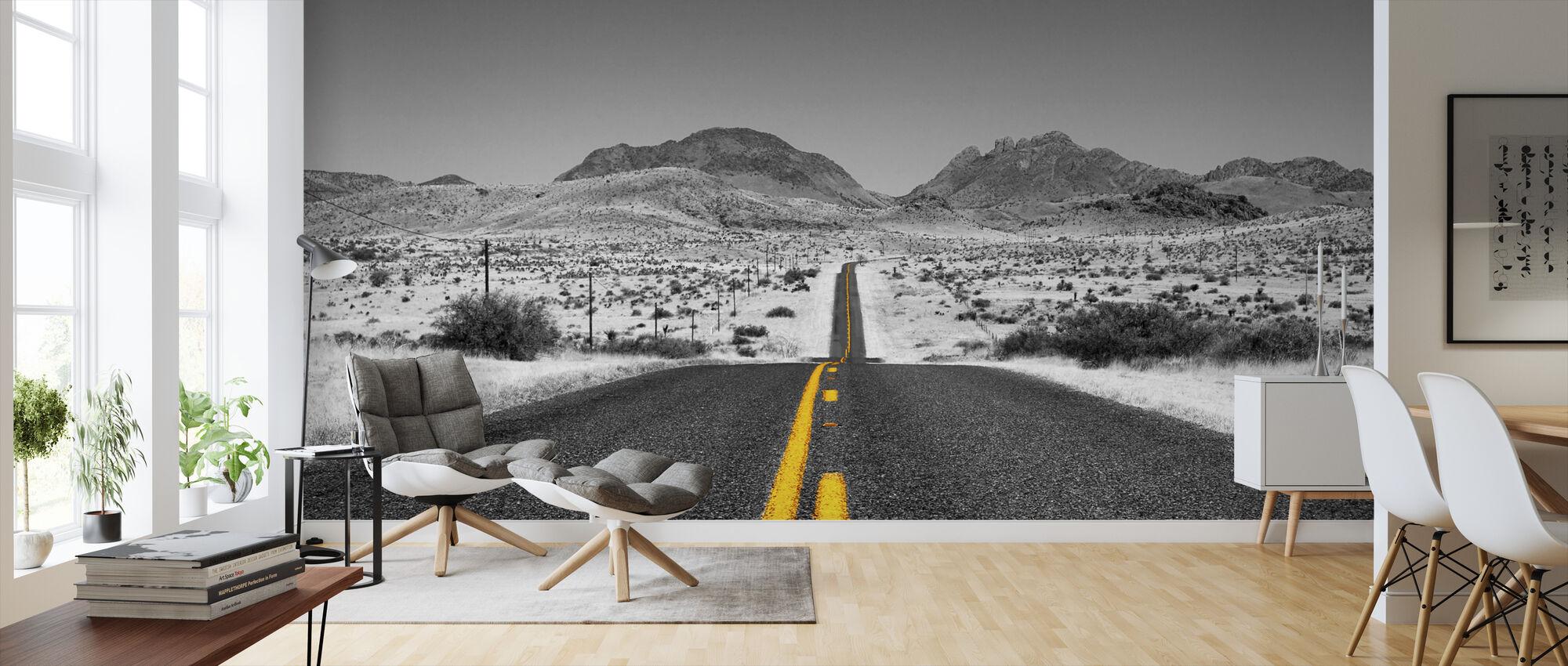 Lost Highway - Colorsplash - Wallpaper - Living Room