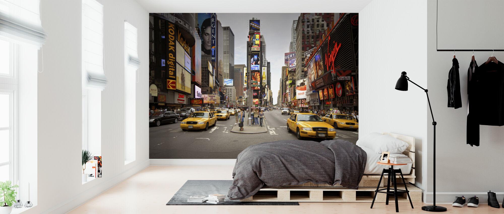 Times Square, New York, Verenigde Staten - Behang - Slaapkamer