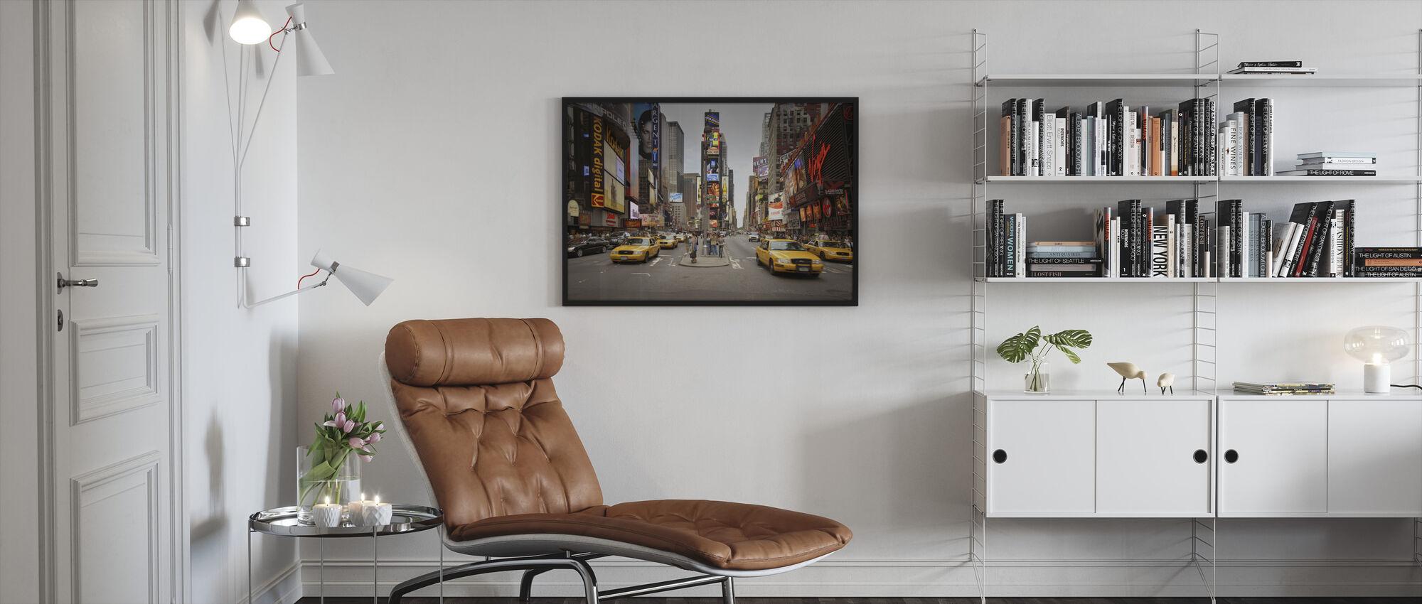Times Square, New York, USA - Framed print - Living Room