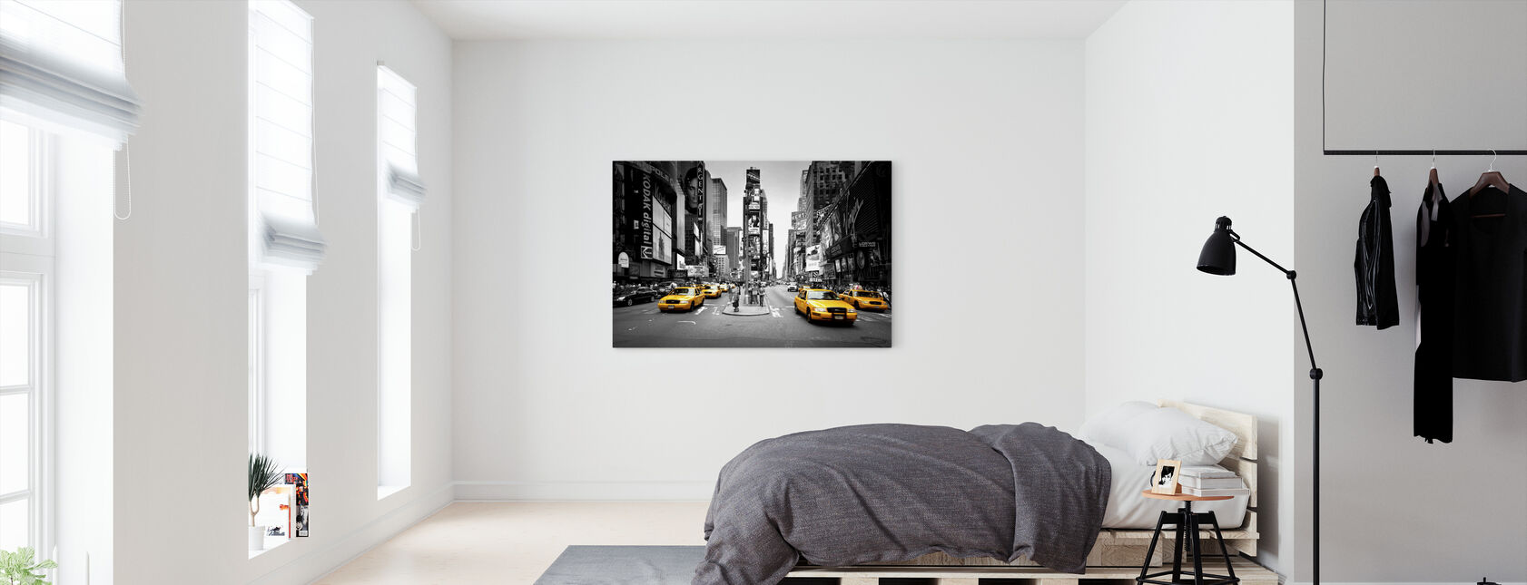 Times Square, New York, USA - Canvas print - Bedroom
