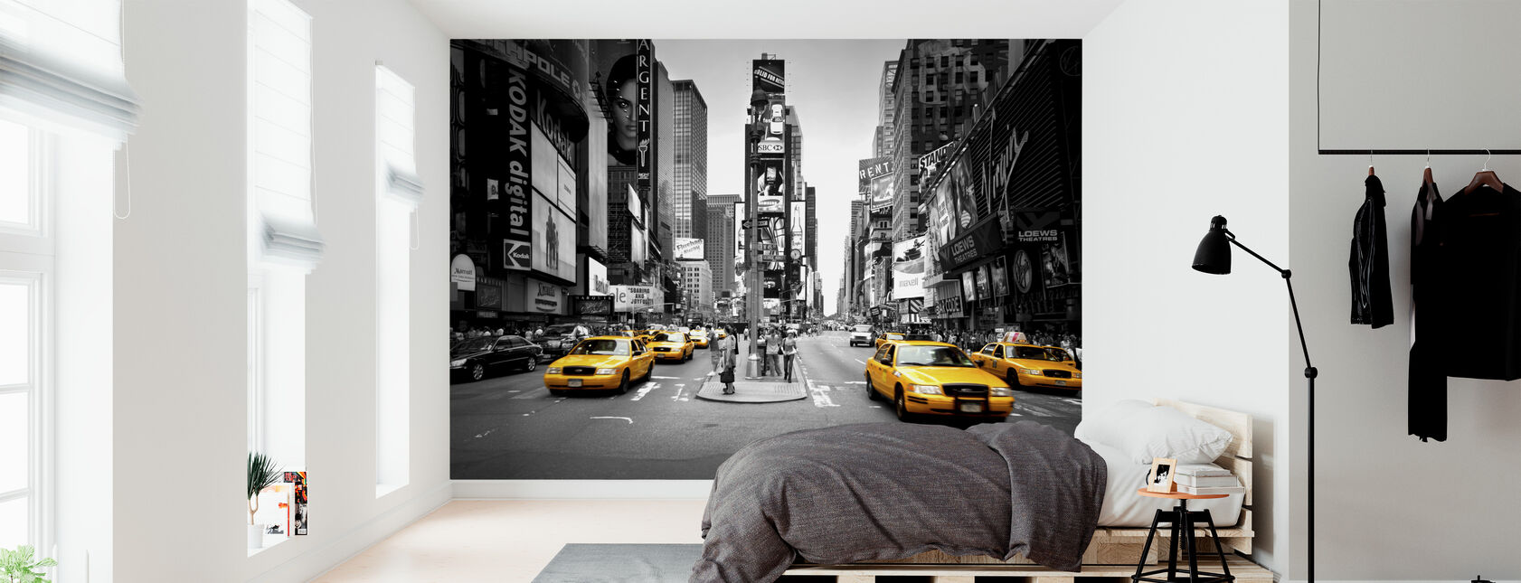 Times Square, New York, Verenigde Staten - Behang - Slaapkamer