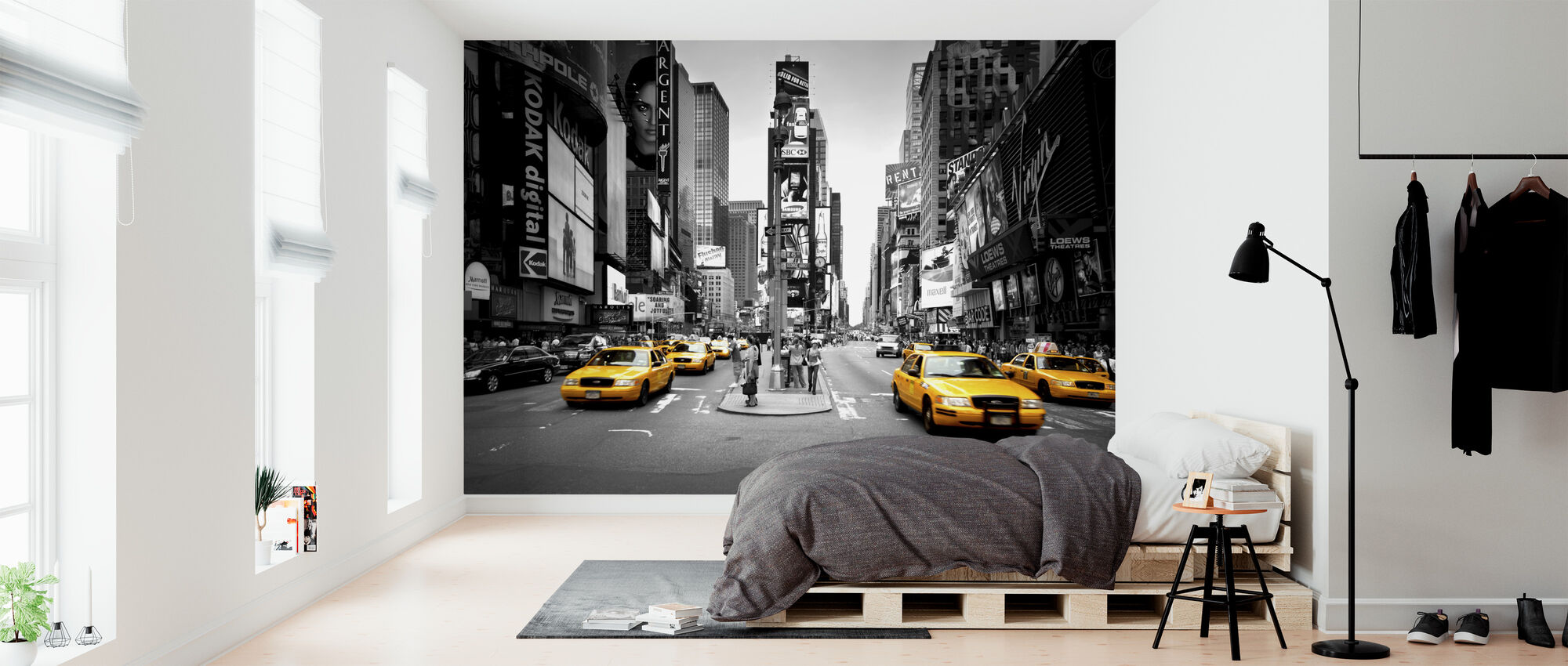 Times Square, New York, USA - Wallpaper - Bedroom