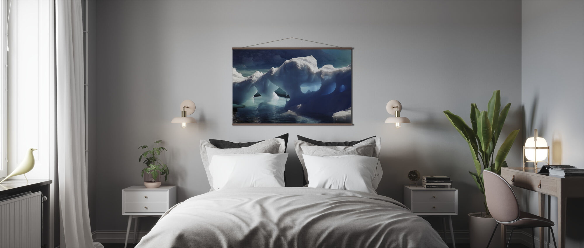 Antarctic Ice Caves - Poster - Bedroom