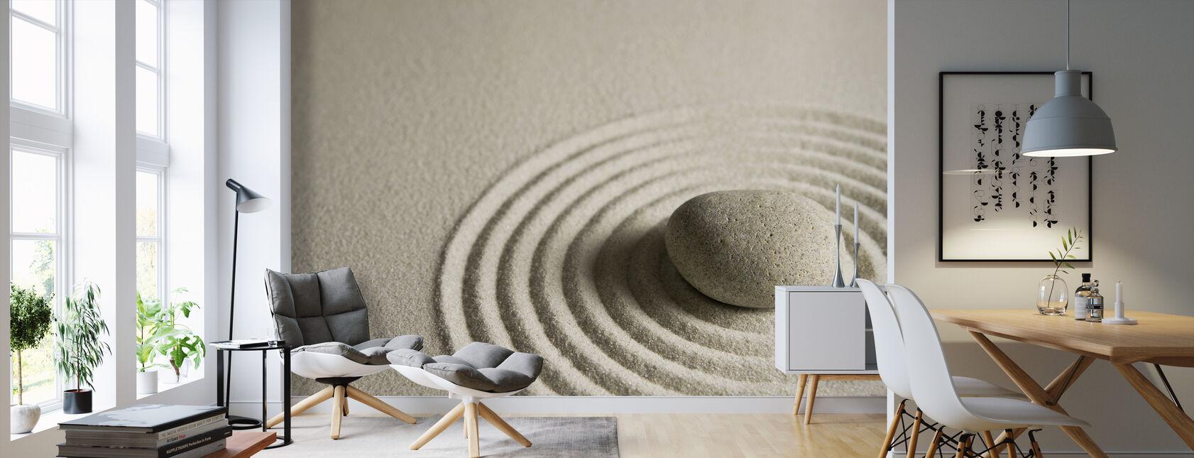 Zen Stone - Wallpaper - Living Room