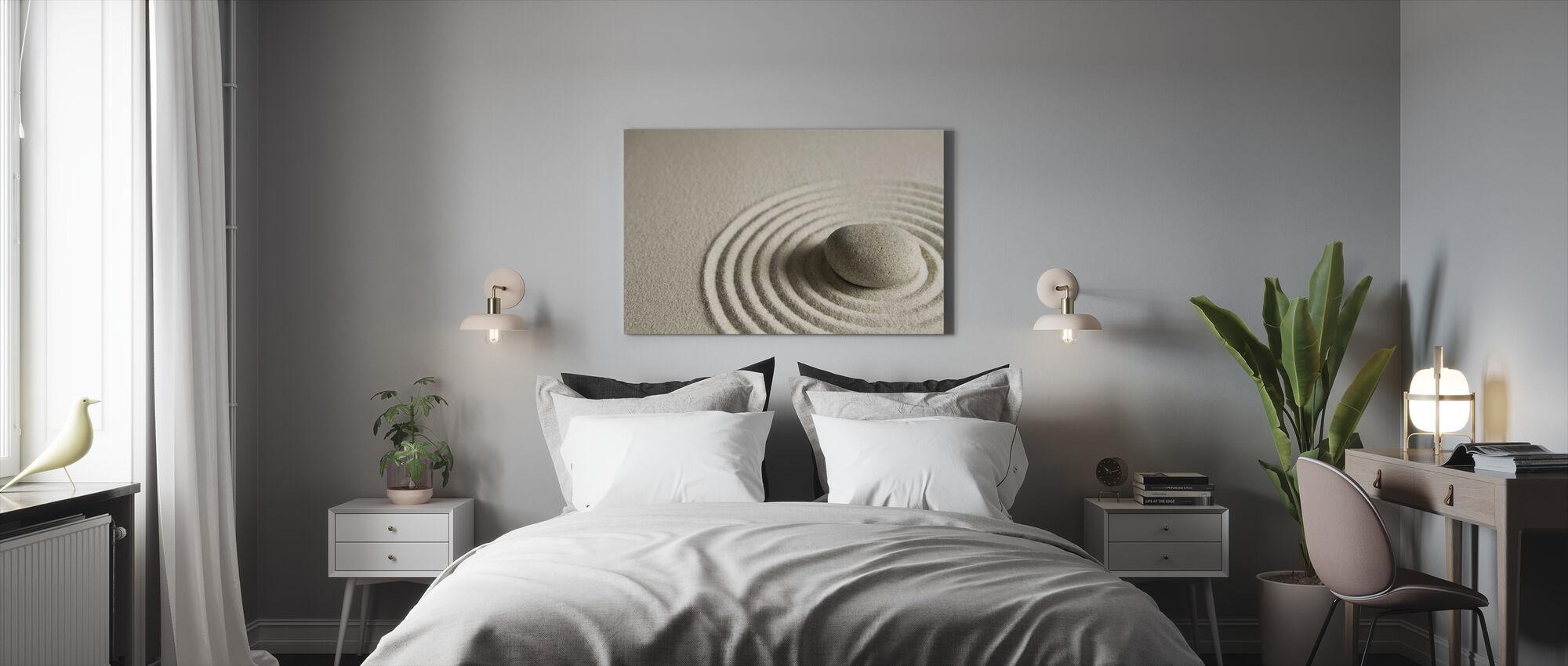 Zen Stein - Leinwandbild - Schlafzimmer