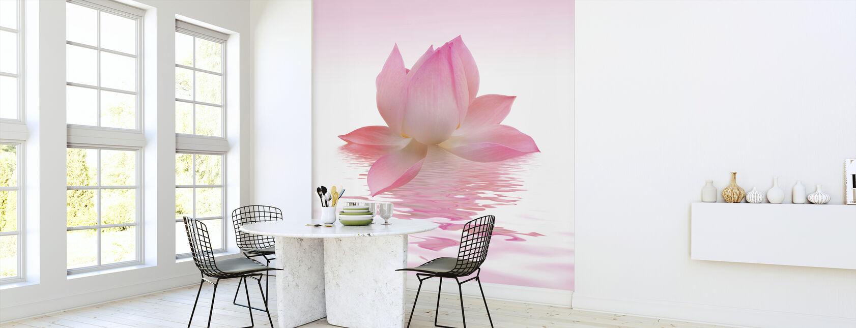 Rosa lotus - Tapet - Kjøkken