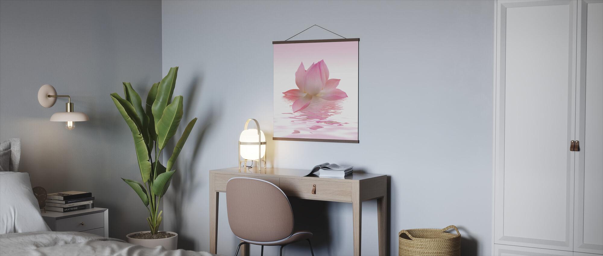 Pink Lotus - Plakat - Kontor