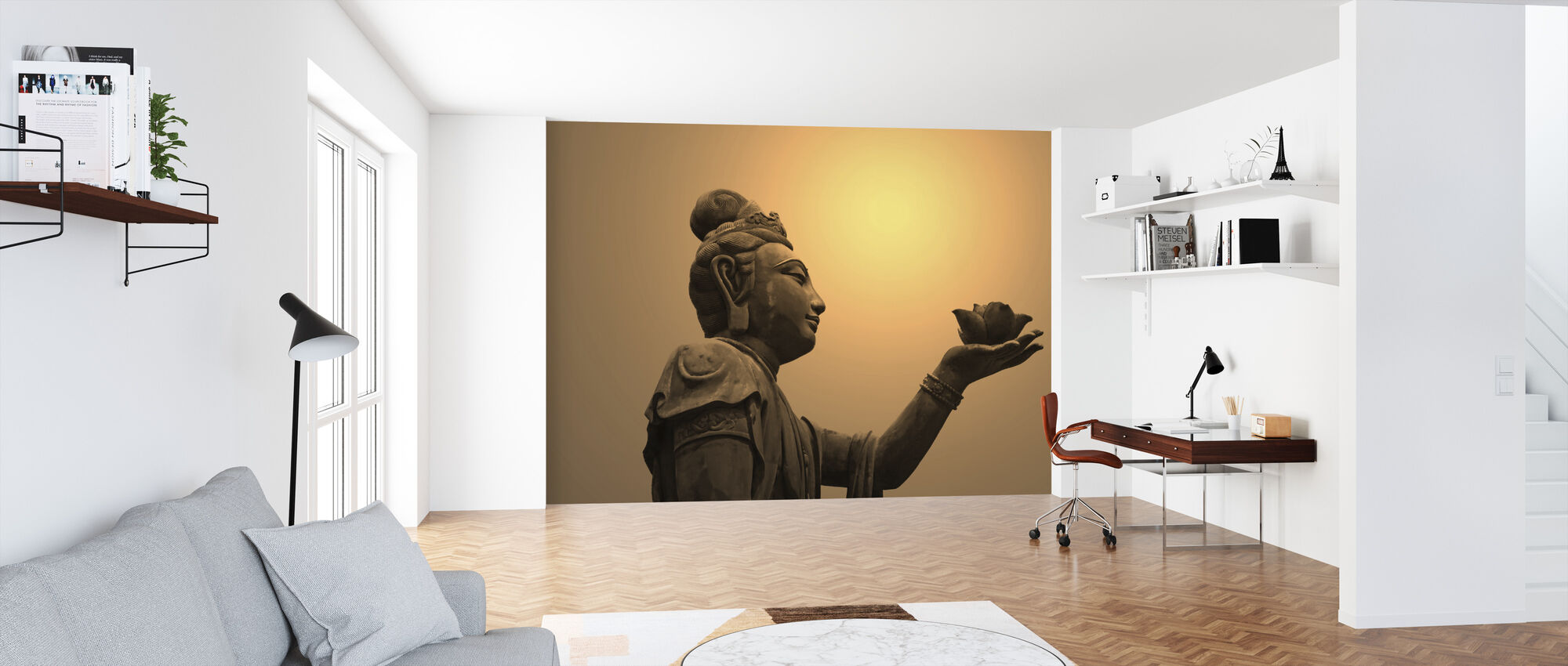Buddhist Statue, Hong Kong - Wallpaper - Office
