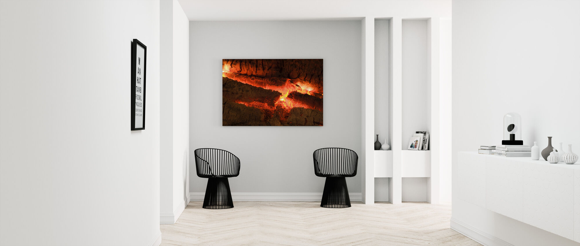 Ember - Close up - Canvas print - Hallway