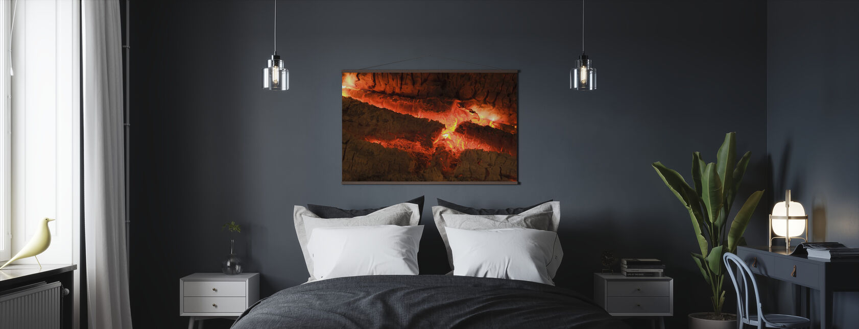 Ember - Close up - Poster - Bedroom