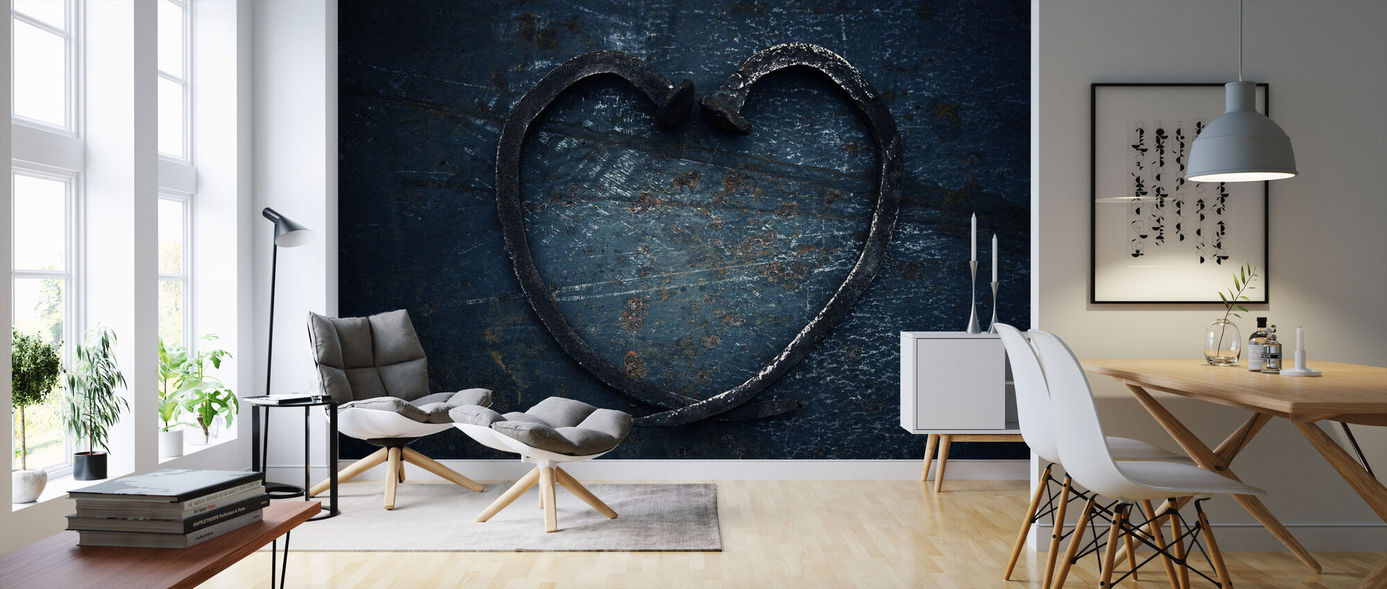 Heart of Nails - Wallpaper - Living Room