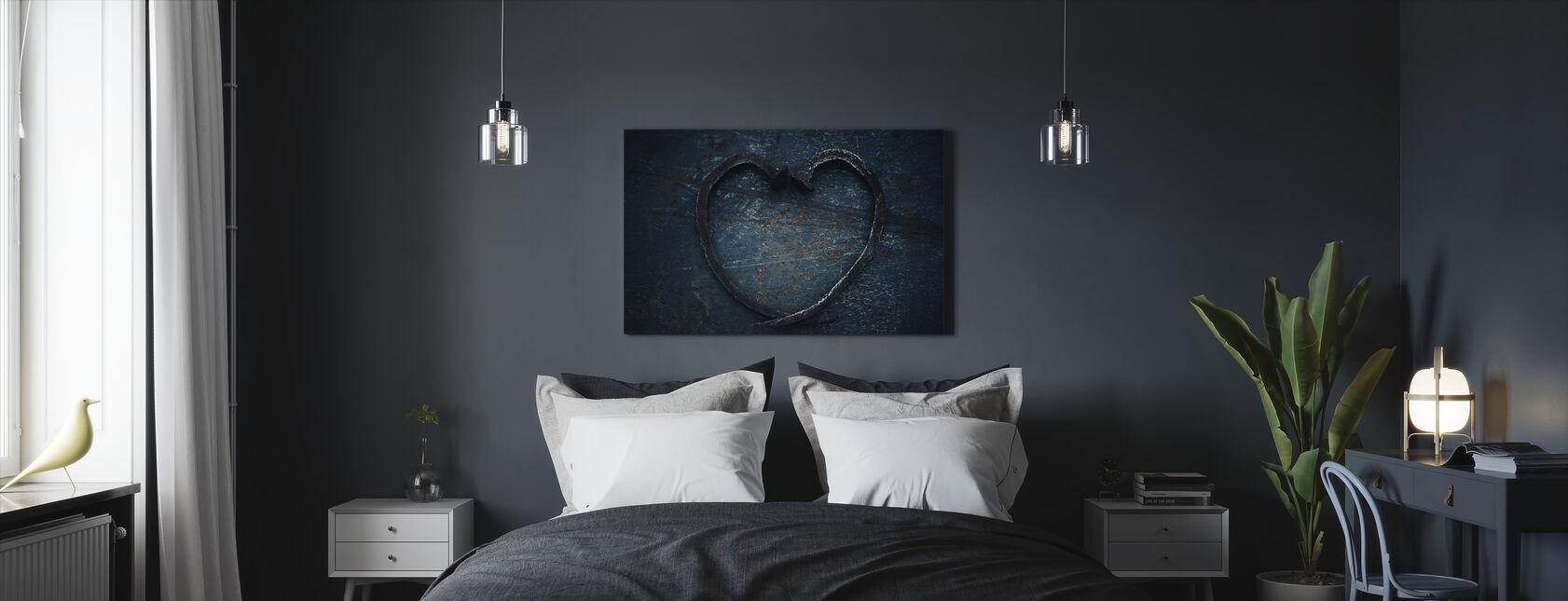 Corazón de Uñas - Lienzo - Dormitorio