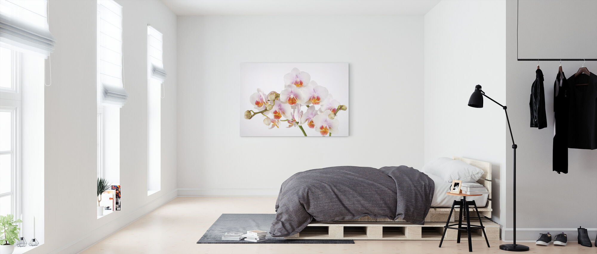 Soft Orchidee - Canvas print - Bedroom