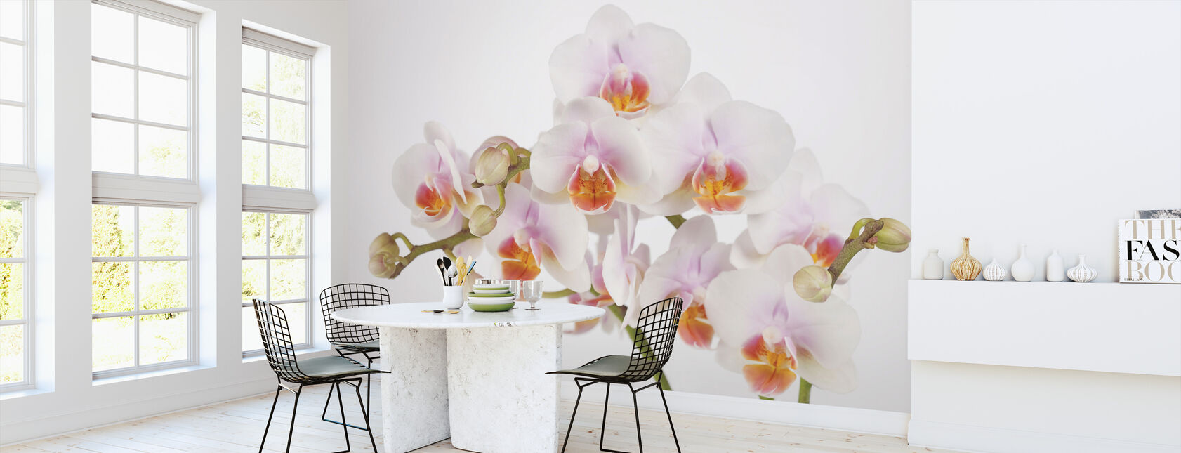 Soft Orchidee - Tapet - Kök