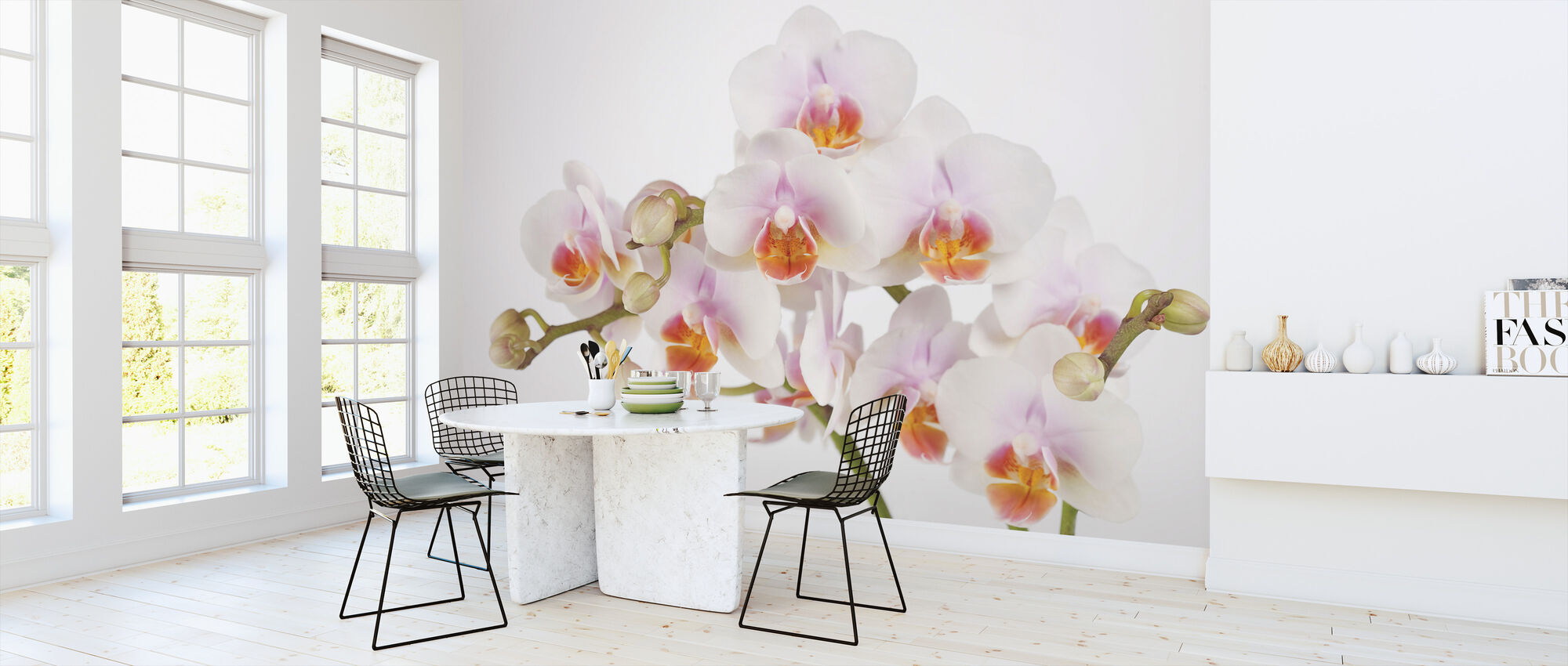 Soft Orchidee - Wallpaper - Kitchen