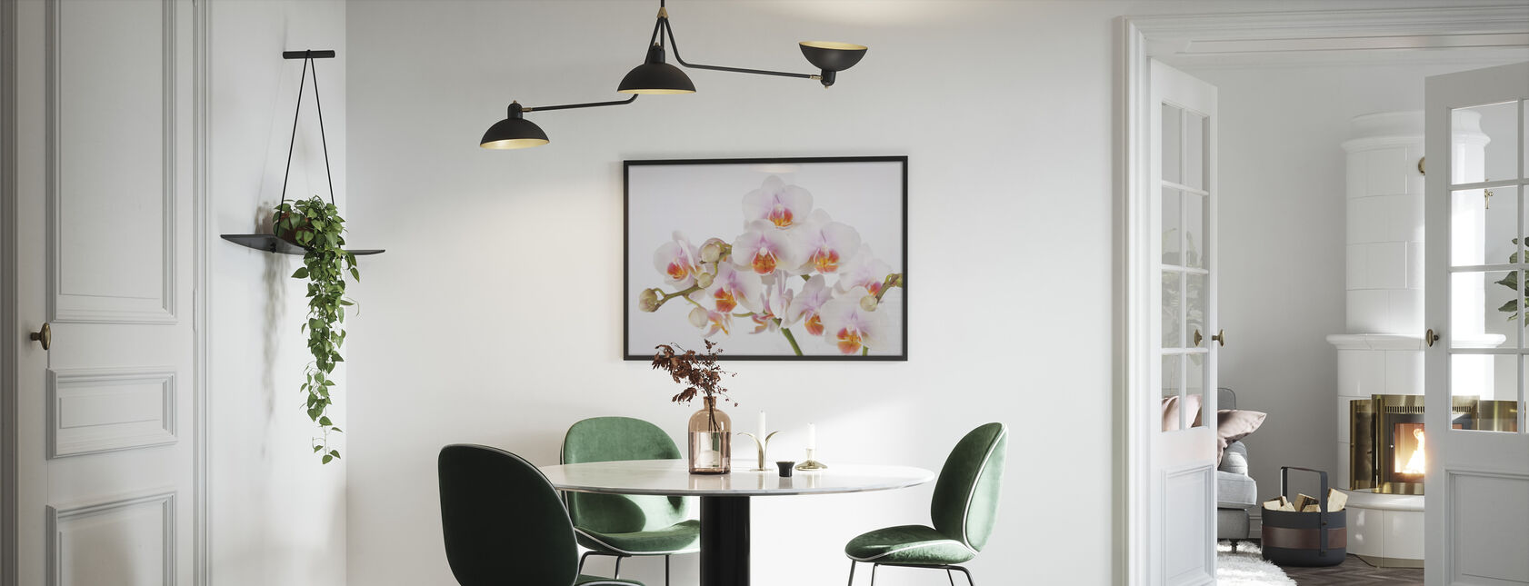 Soft Orchidee - Framed print - Kitchen