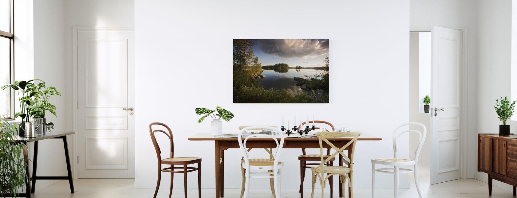 Ruotsin kesämaisema - Canvastaulu - Keittiö