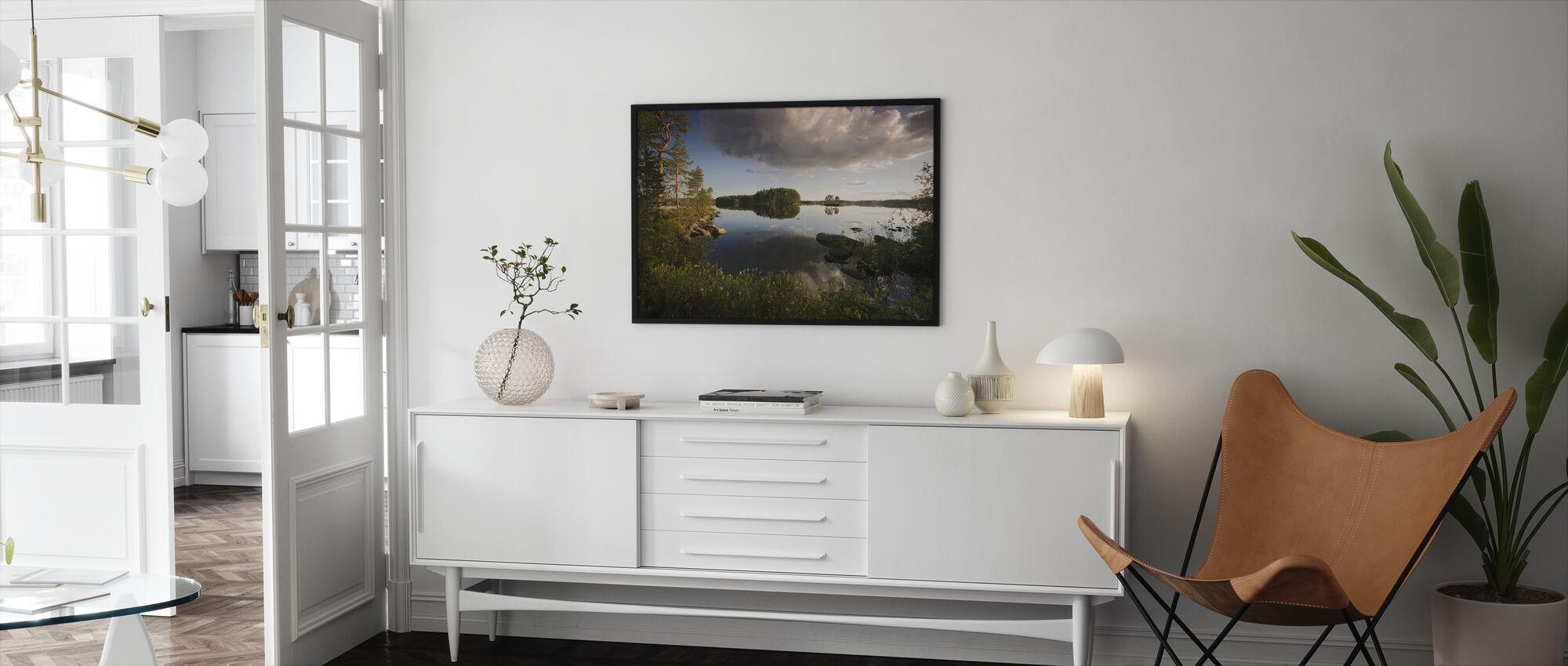 Swedish Summer Landscape - Framed print - Living Room