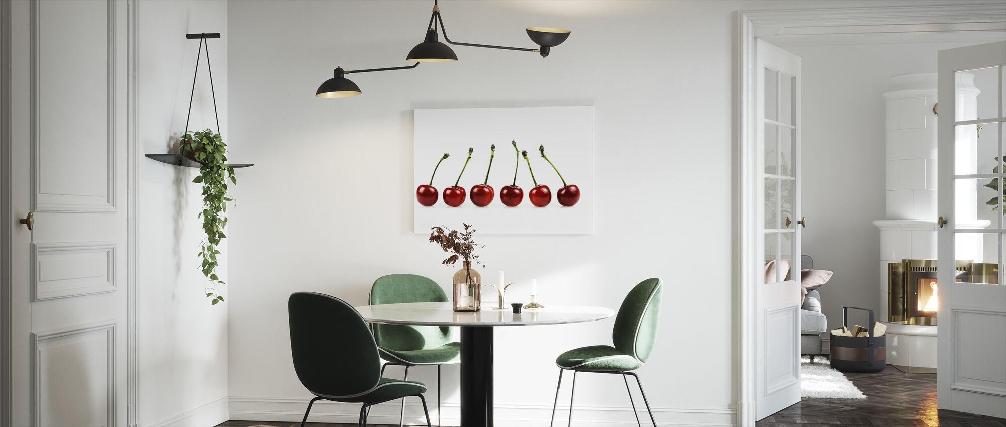 Fresh Cherries - Canvas print - Kitchen