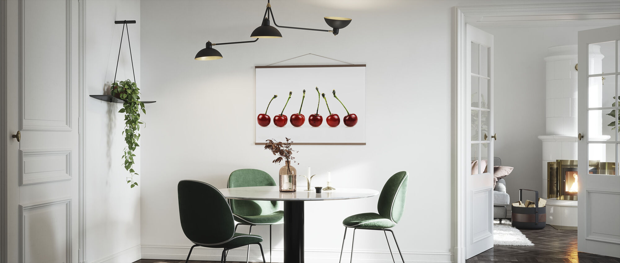 Frische Kirschen - Poster - Küchen