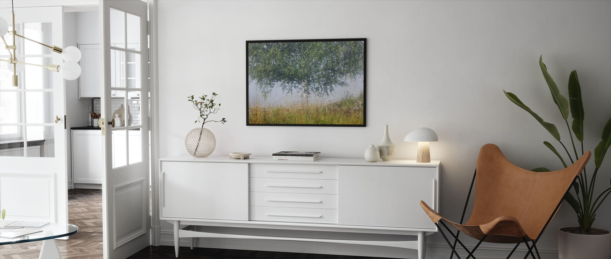 Peaceful Place - Framed print - Living Room