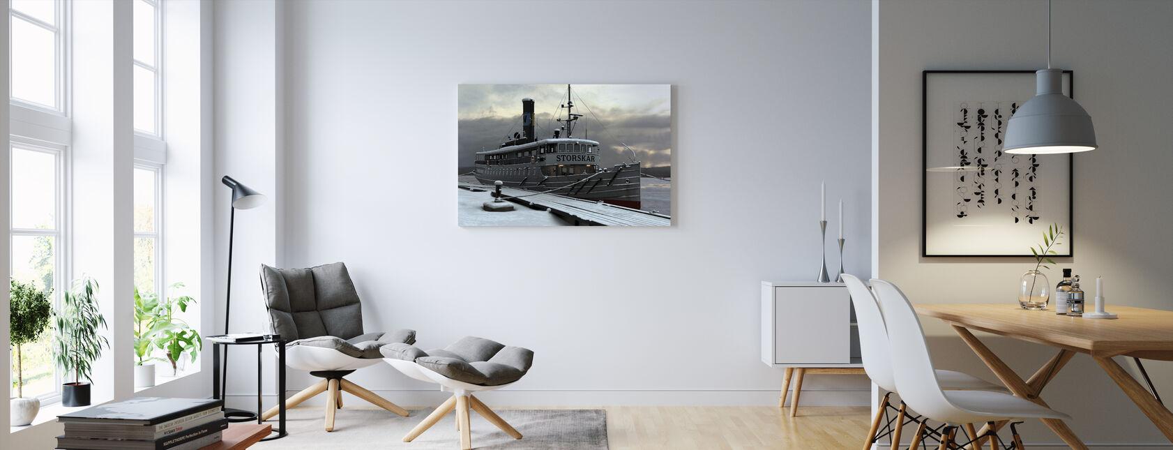 Waxholm Boat - Canvastavla - Vardagsrum