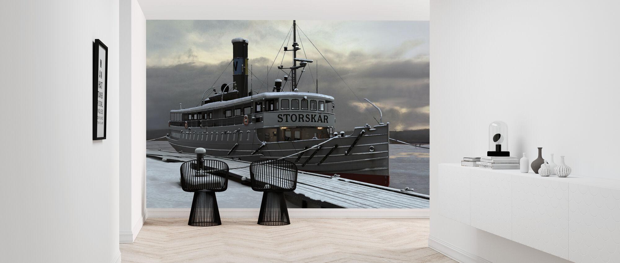 Waxholm Boat - Wallpaper - Hallway