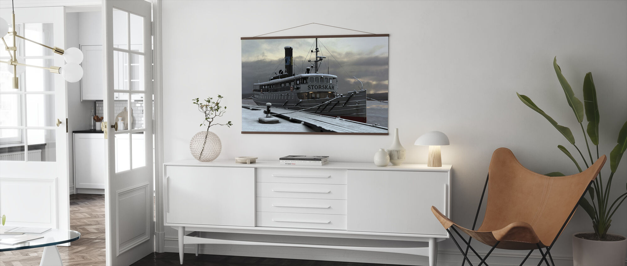 Waxholm Boat - Poster - Living Room