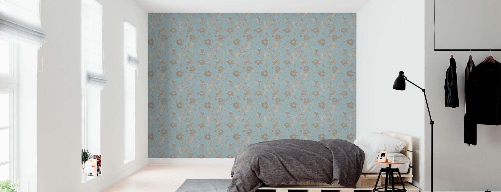 Botanica - Turquoise - Tapet - Soverom