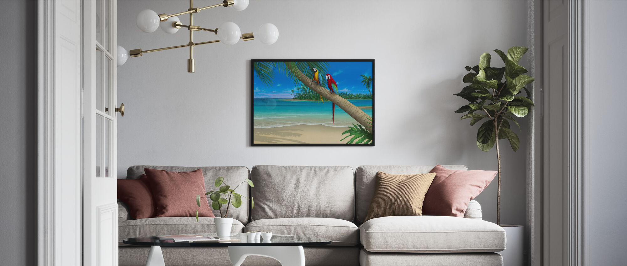 A Perfect Day II - Framed print - Living Room