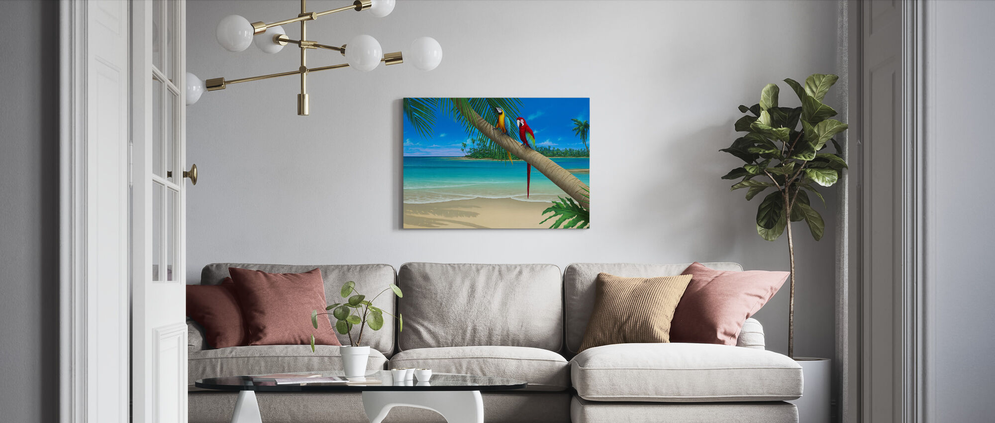 A Perfect Day II - Canvas print - Living Room