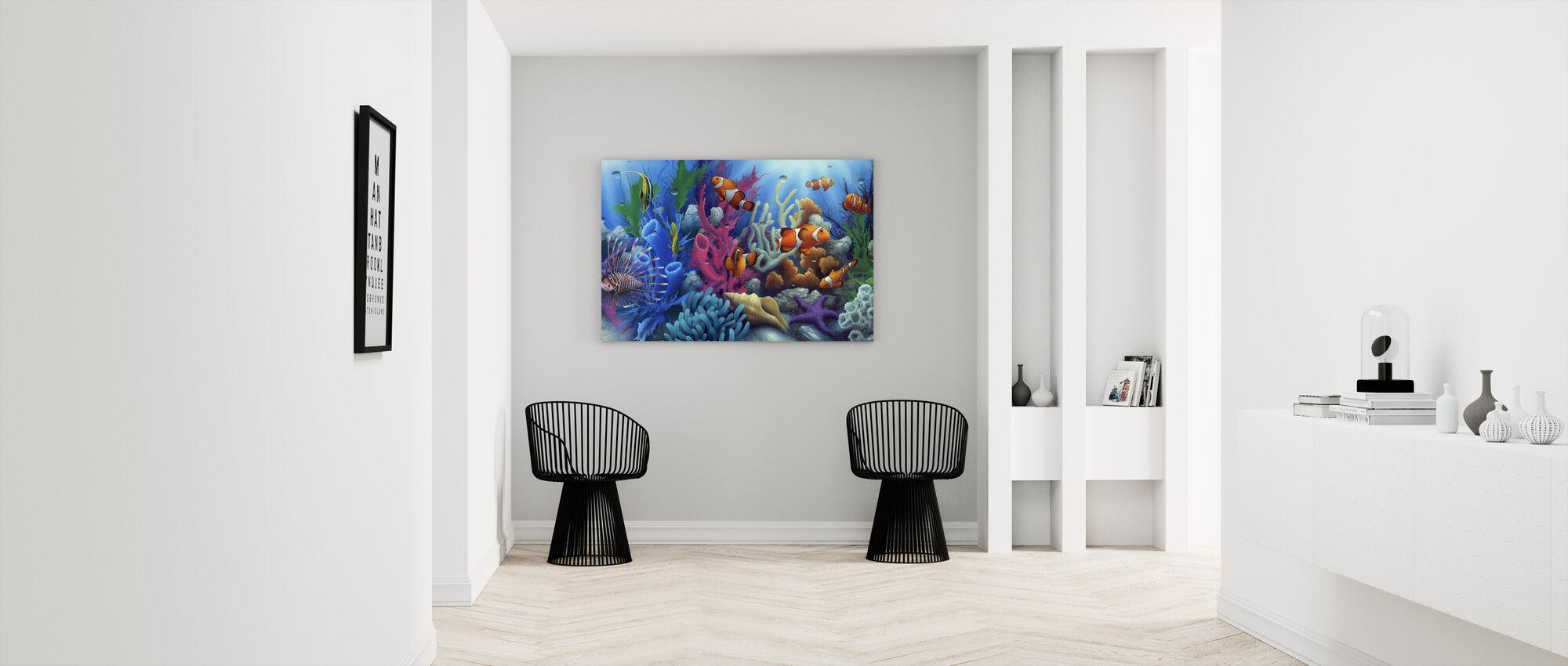 Around The World 2 - Canvas print - Hallway
