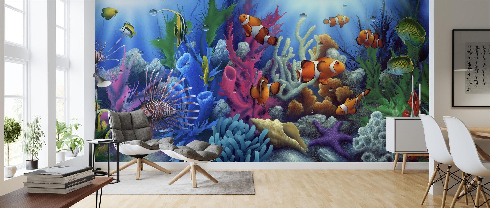 Around The World 2 - Wallpaper - Living Room