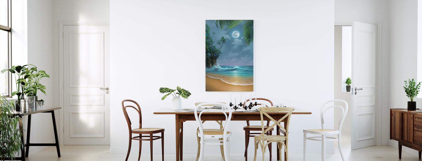 August Moon - Canvas print - Kitchen