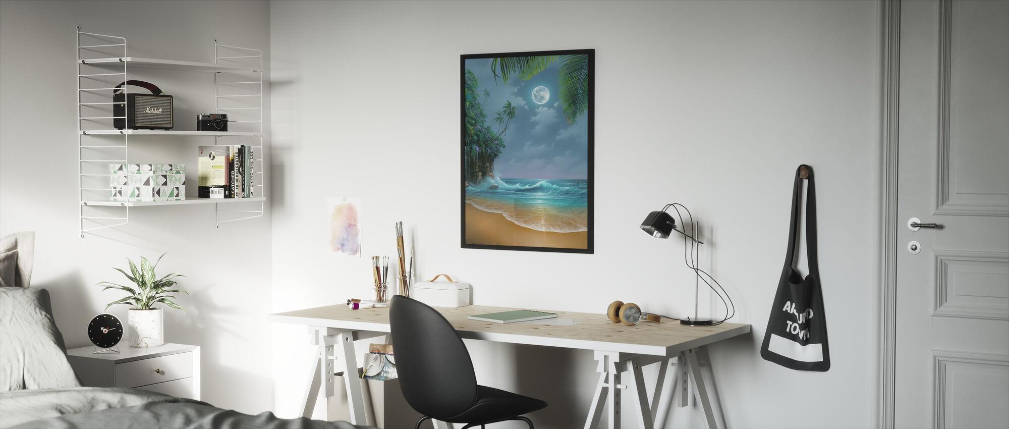 Augustus Maan - Ingelijste print - Kinderkamer