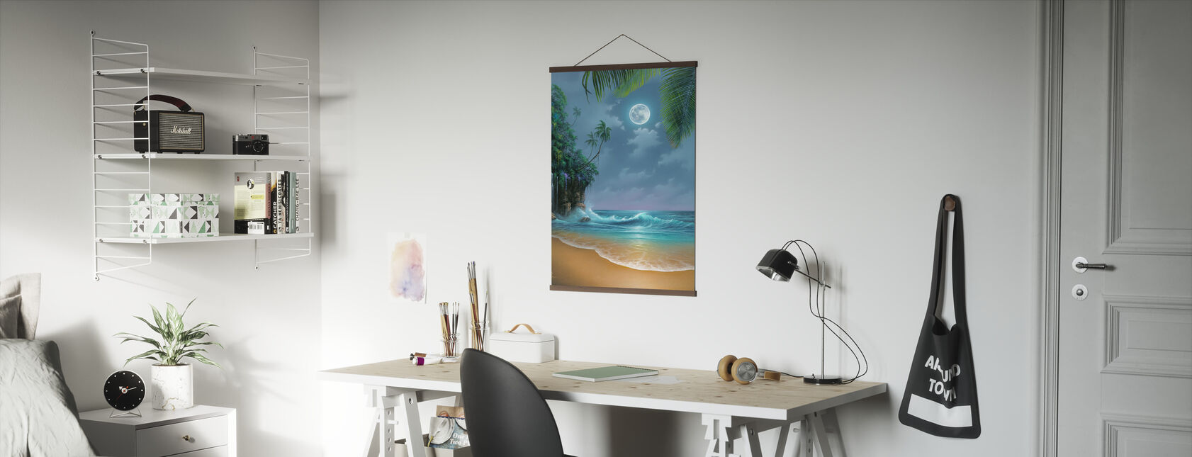 August Moon - Poster - Office