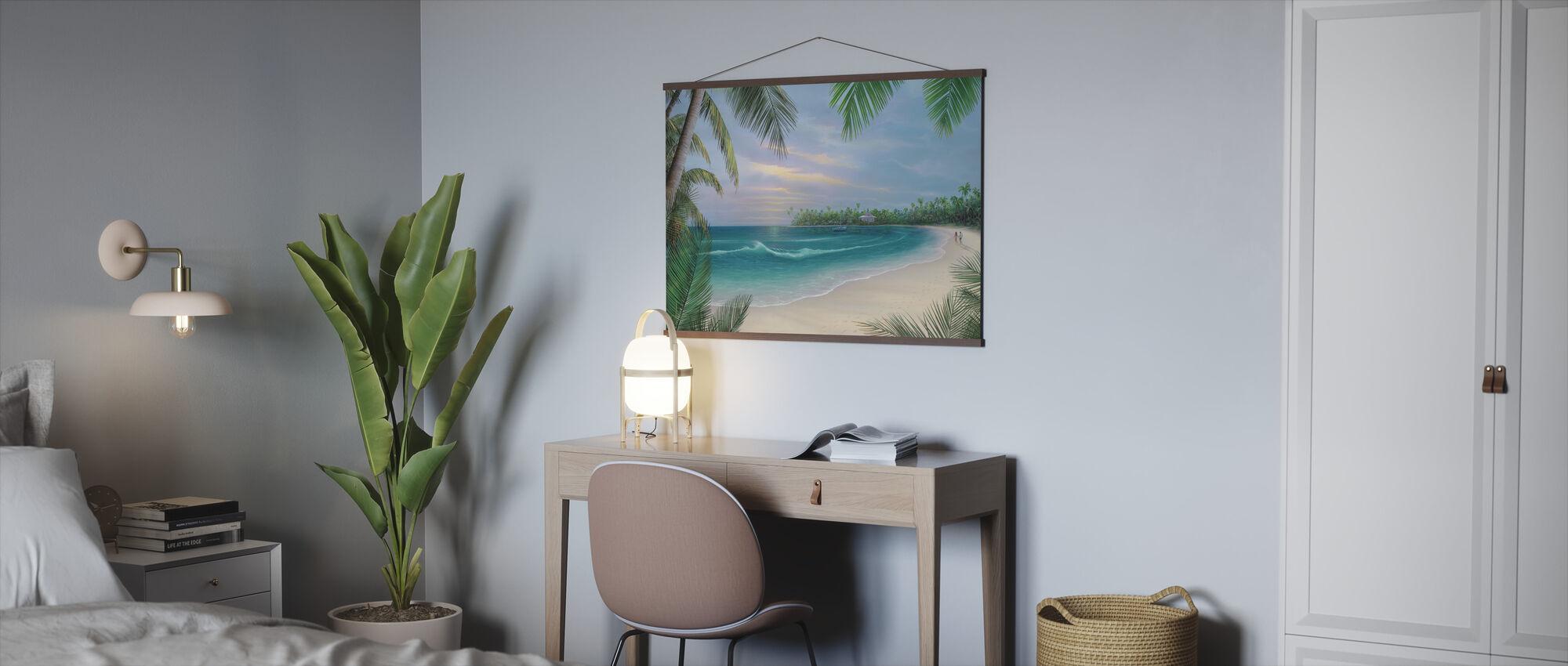 Beach House Rendezvous - Poster - Kantoor