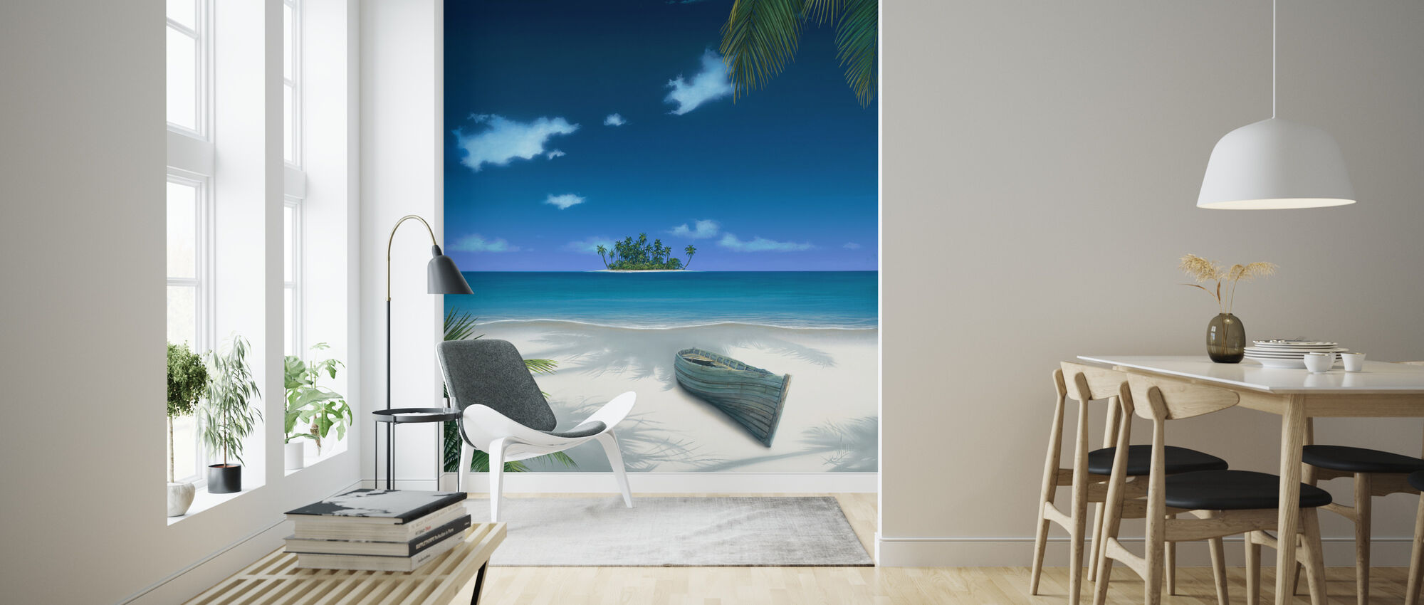 Beached - Wallpaper - Living Room