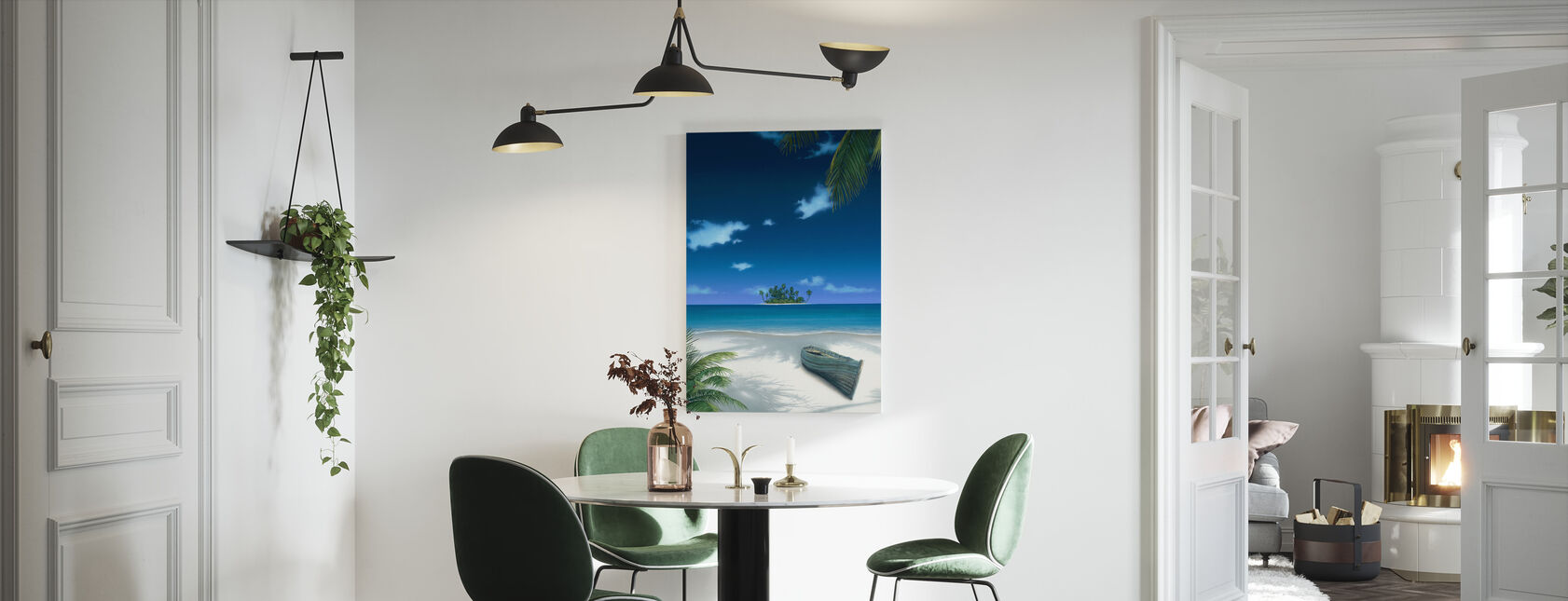 Beached - Canvas print - Kitchen