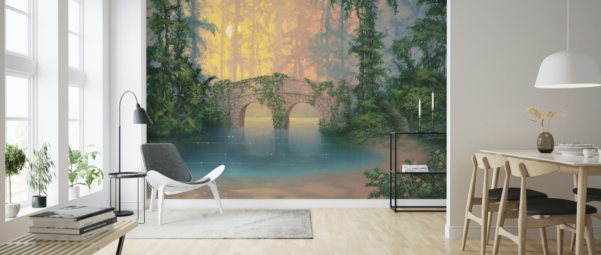 Heaven On Earth - Wallpaper - Living Room