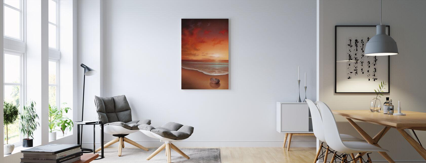 Crimson Tide - Canvas print - Living Room