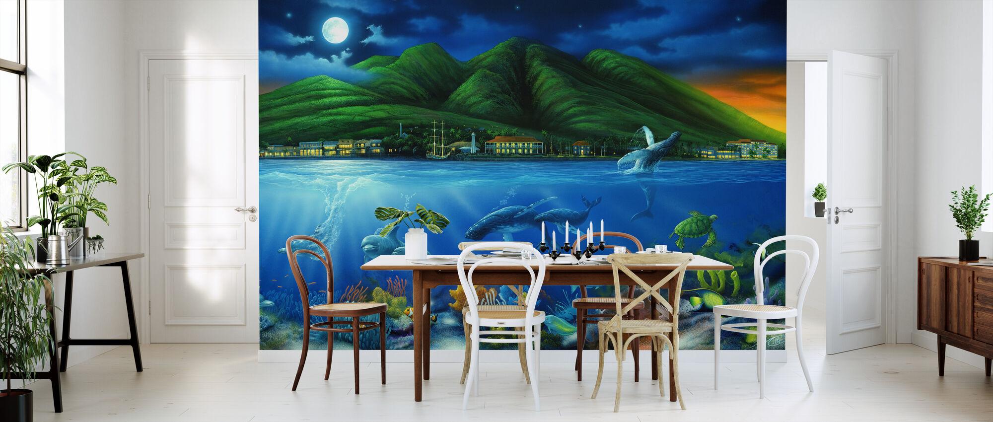 Lahaina Moon - Wallpaper - Kitchen