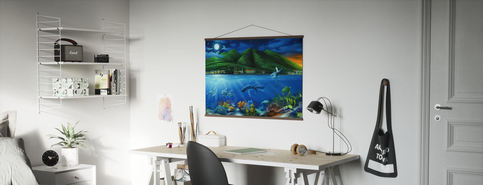 Lahaina Moon - Poster - Kantoor