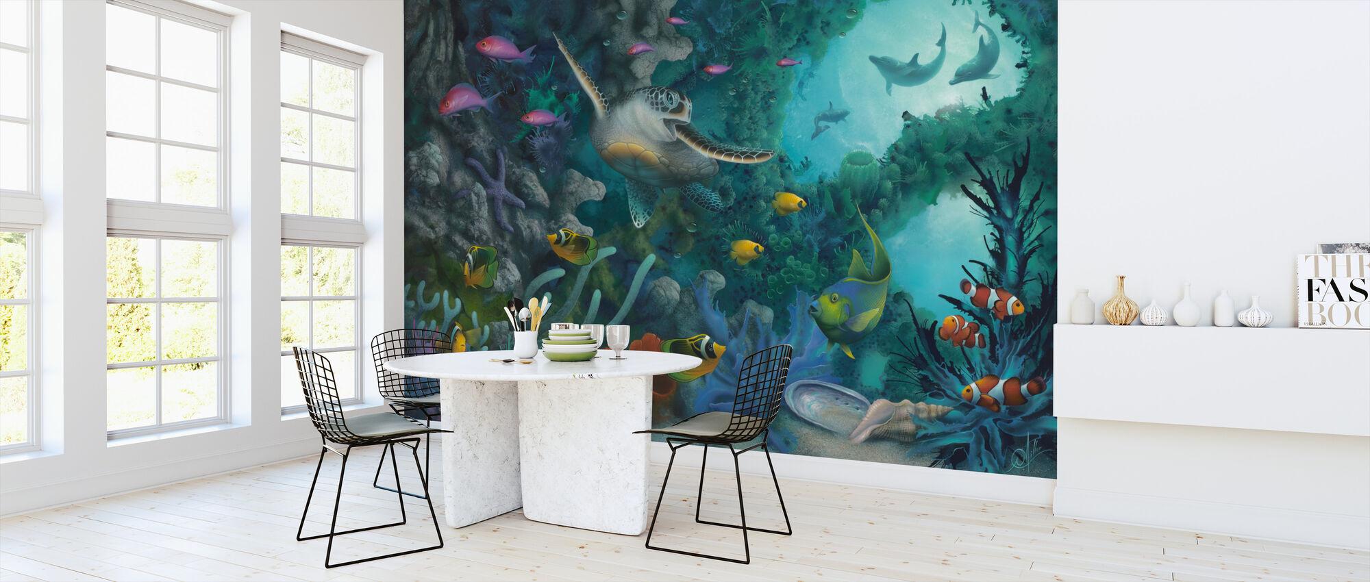 Jewels of the Sea - Wallpaper - Kitchen